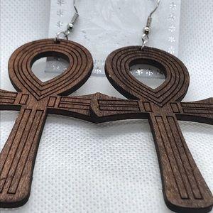 Jewelry - Life earrings wood